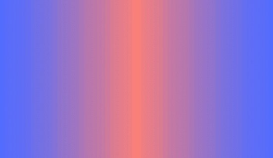 Blue/Salmon Pixel Gradient by rei0