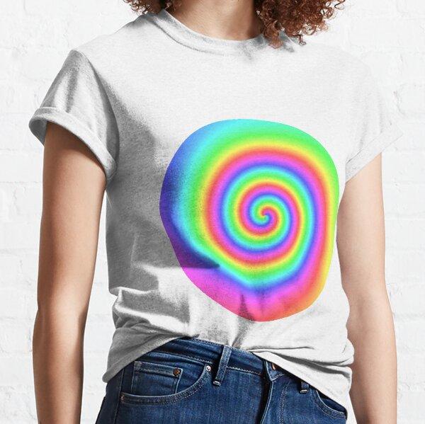 #vortex, #design, #spiral, #creativity, fun, illustration, shape, color image, circle, geometric shape Classic T-Shirt