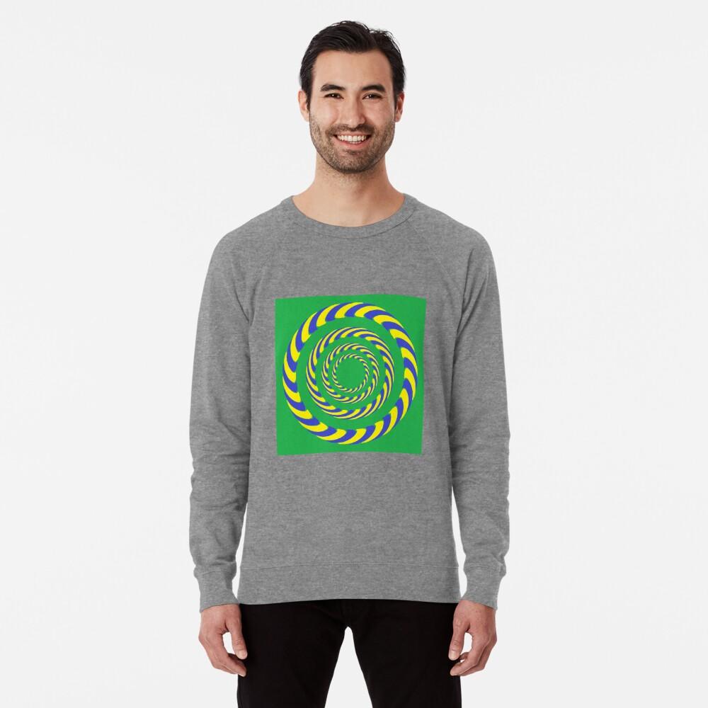 #vortex, #design, #spiral, #creativity, fun, illustration, shape, color image, circle, geometric shape Lightweight Sweatshirt