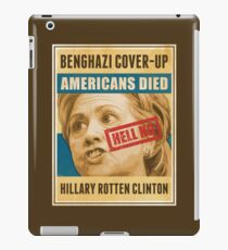 Hell No Hillary iPad Case/Skin