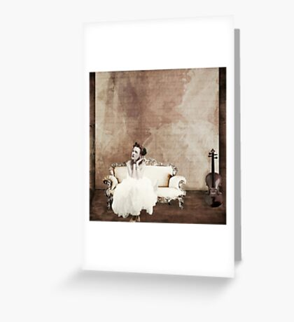 Lady in Waiting... Greeting Card