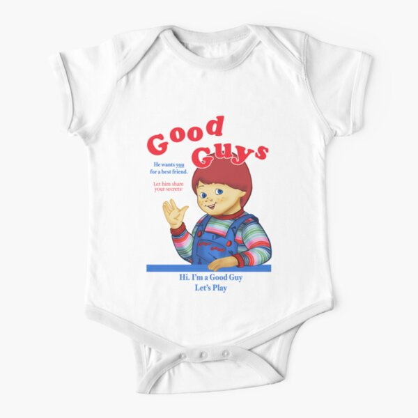 Good Guys Short Sleeve Baby One-Piece