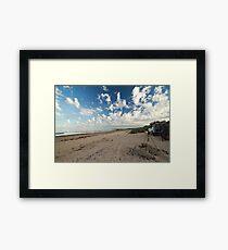 Waiting for nightfall - McLeods Beach Exmouth WA Australia Framed Print