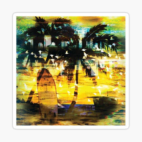Malibu Sticker