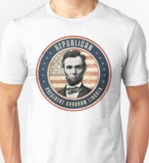 Republican President Abraham Lincoln T-Shirt