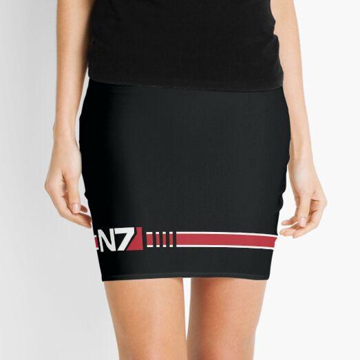 N7 Logo Mini Skirt
