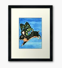 Daily Doodle 19- Creature - Bunnyfly Framed Print