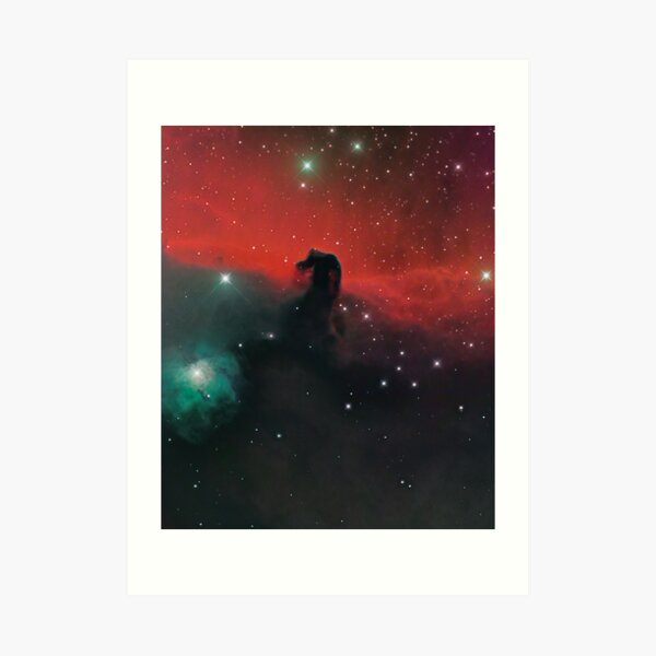 The Horsehead Nebula in Orion Art Print