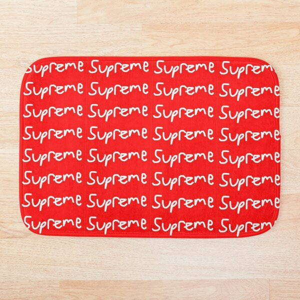 AUTHENTIC SUPREME BOX LOGO Bath Mat