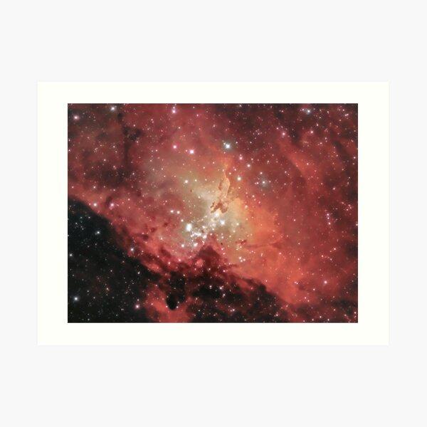 The Eagle Nebula (Pillars of Creation) Art Print