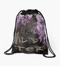 Wild Wisteria Band Album Art #2 Drawstring Bag