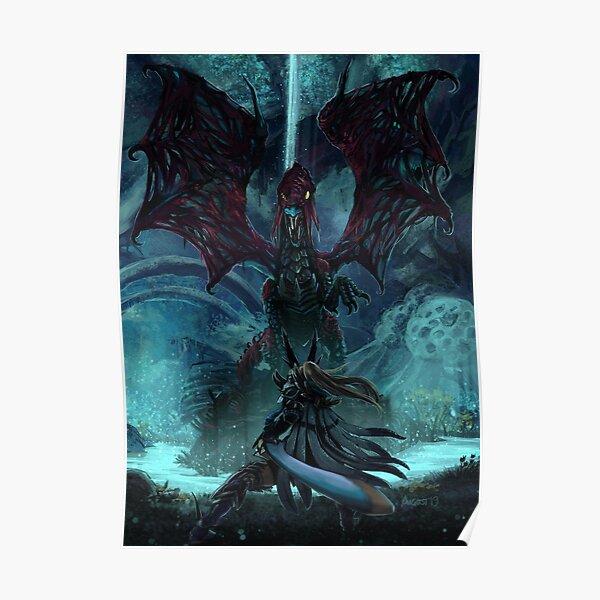 La mort se cache à la lumière des ténèbres [Monster Hunter] Poster