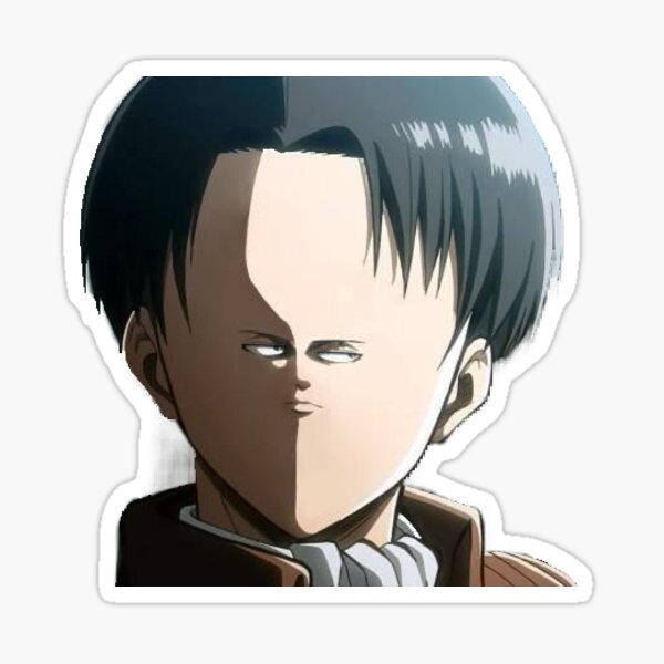 Attack on Titan Levi Ackerman Sticker
