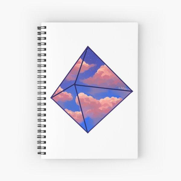 Evening Sky Ramiel Spiral Notebook