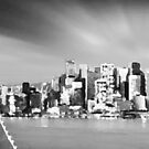 San Francisco, California in Gray by Meigel Art