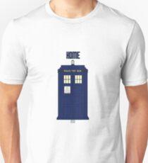Home - Tardis Unisex T-Shirt