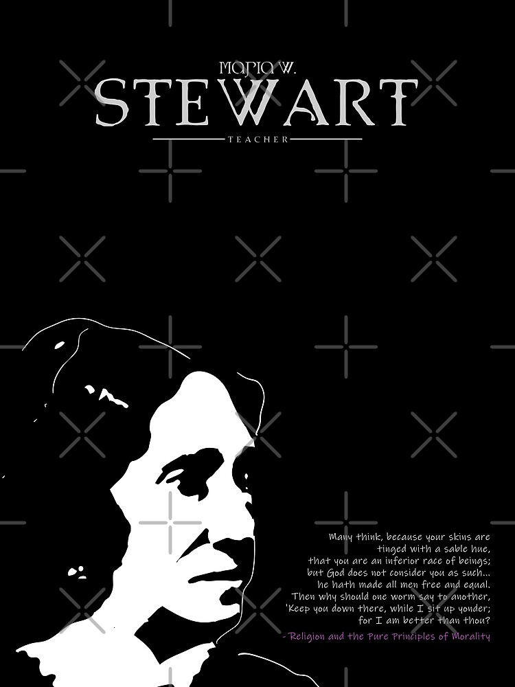 A Quote By Maria W. Stewart by ys-stephen
