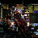 Las Vegas Strip Again by Meigel Art