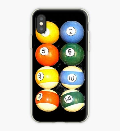 painted balls iPhone Case