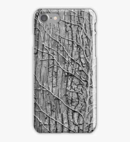 Tree and Vines B&W iPhone Case/Skin
