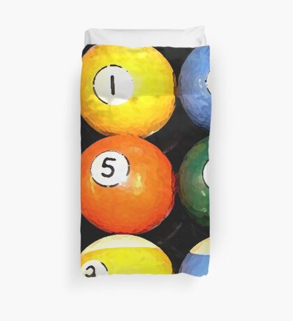 painted balls Duvet Cover