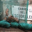 Barcelona - Baby boum. by Jean-Luc Rollier