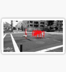 Monogatari – Red Crab Sticker