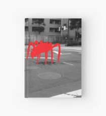 Monogatari – Red Crab Hardcover Journal