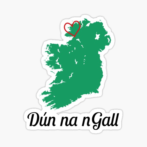 Dún na nGall / Donegal Sticker