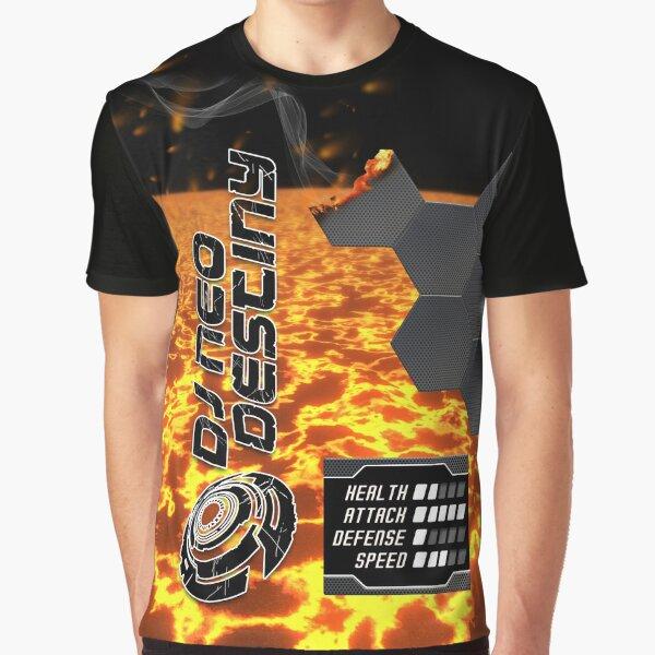 DJ Neo Destiny Trance Object-01 [Lava Crush Type]  Graphic T-Shirt