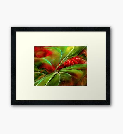 You are My Soul Food Framed Print