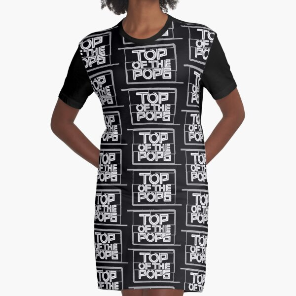 NDVH Top of the Pops - 1966-1969 Graphic T-Shirt Dress