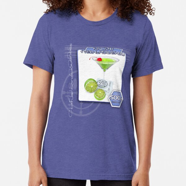 DJ Neo Destiny Trance Object-02 [Citrus Consciousness Type] Tri-blend T-Shirt