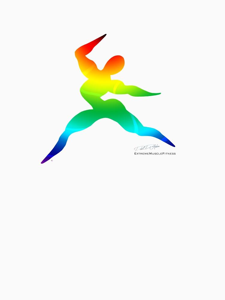 Cross Fit Training Rainbow Light by debradandrea