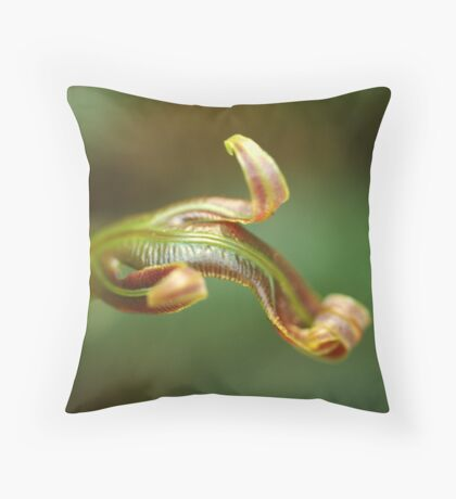 new life in the forest Throw Pillow
