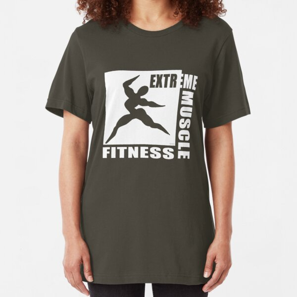 Cross Fit Training T-Shirt Dark Slim Fit T-Shirt