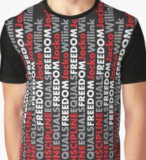 """""""Disziplin entspricht Freiheit"""" Jocko Willink Grafik T-Shirt"""
