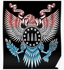 Póster Libertad o muerte 3 por ciento águila