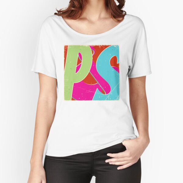 Perilous and Sparks colorful Logo Relaxed Fit T-Shirt