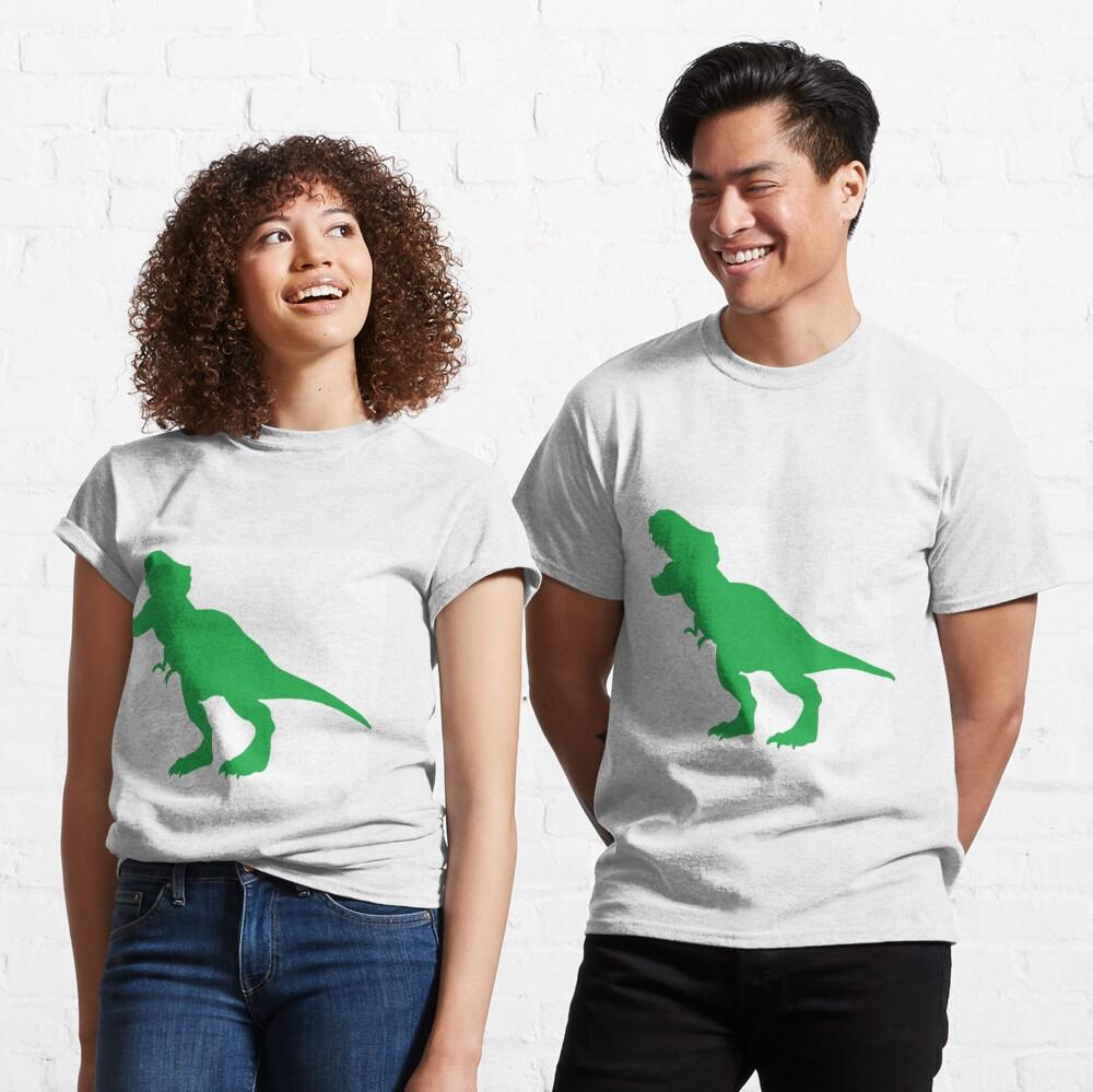 #Green #Dinosaur #GreenDinosaur Classic T-Shirt