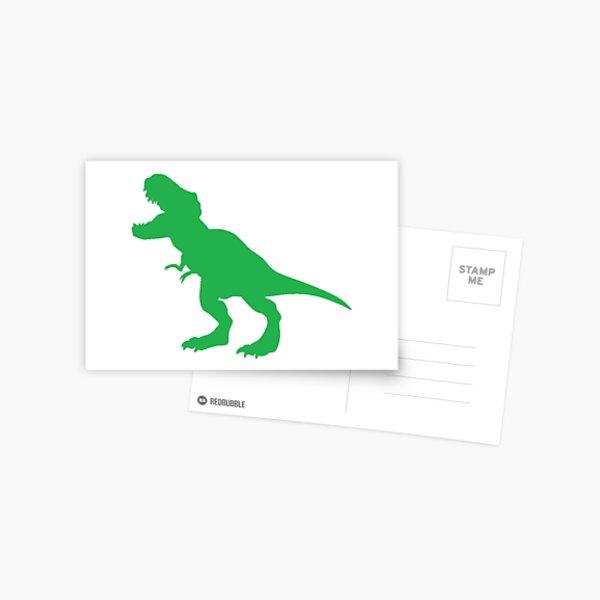 #Green #Dinosaur #GreenDinosaur Postcard