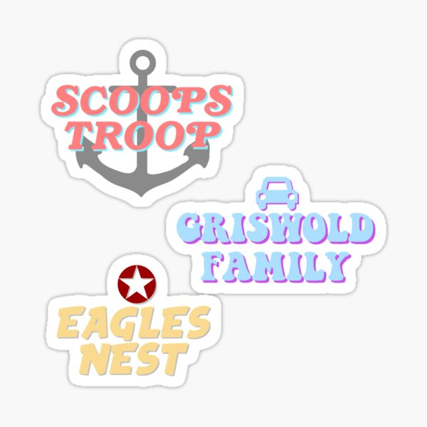 stranger things squads Sticker