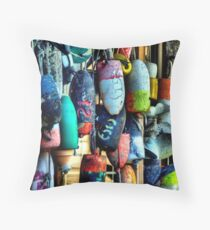 Buoys and Props Throw Pillow