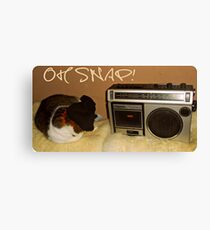 Oh Snap! Canvas Print
