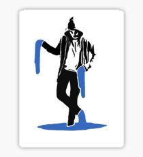 The Paint Man Sticker