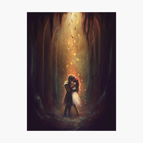Reunion - Persephone and Hades Photographic Print