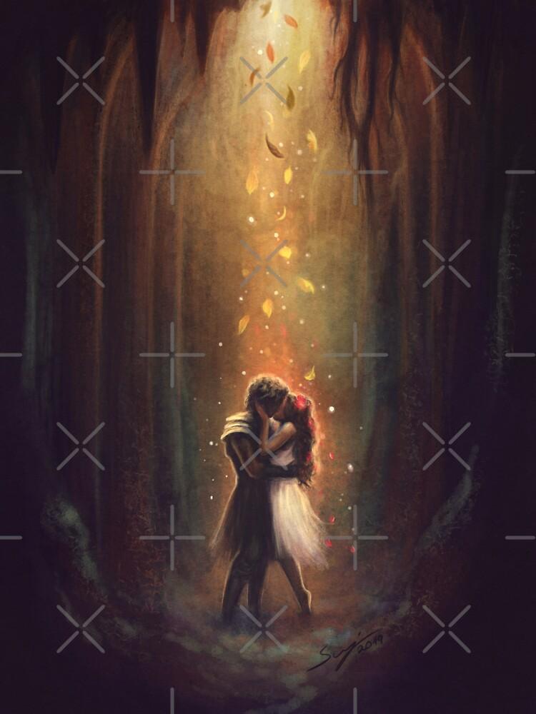 Reunion - Persephone and Hades by svenja
