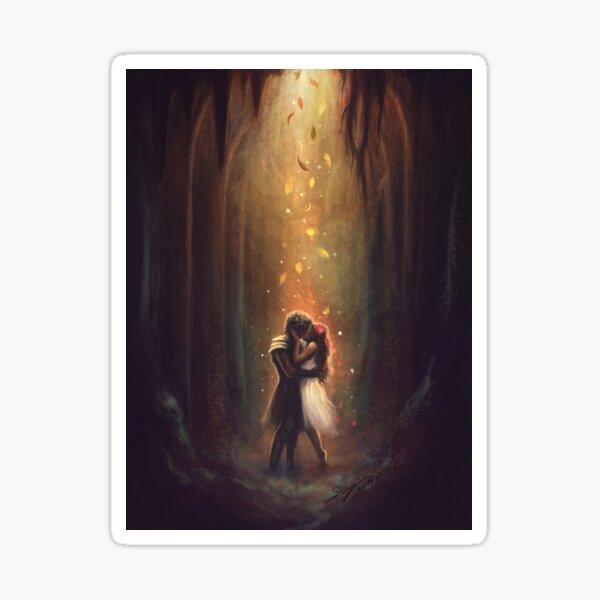 Reunion - Persephone and Hades Sticker