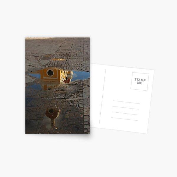 Granada Cathedral Reflection Postcard
