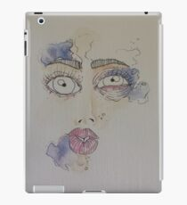 bruised, battered and scared. iPad Case/Skin